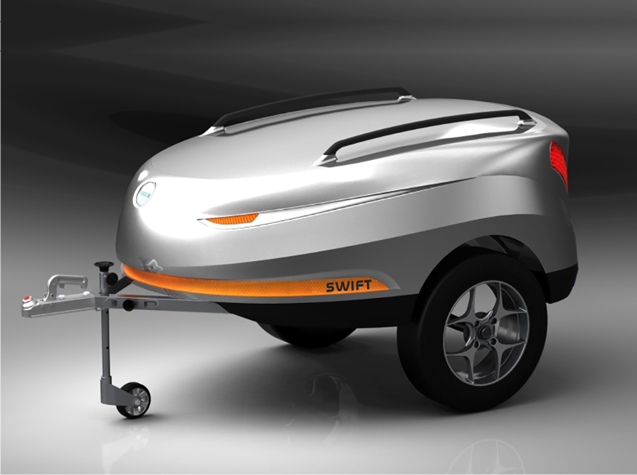 Swift - The Luggage Trailer for smaller cars