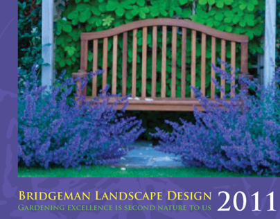 Bridgeman Landscape Design brochure packet