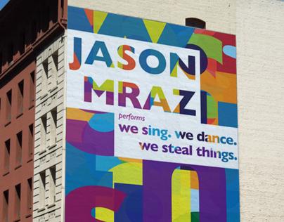 Jason Mraz Concert Poster