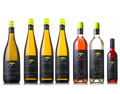 Branding & Labels for Saturna Island Winery