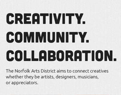 Norfolk Arts District Website