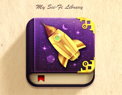 Sci-fi Stories ios app icon