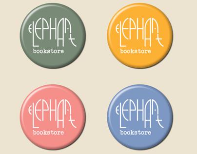 ELEPHANT bookstore branding