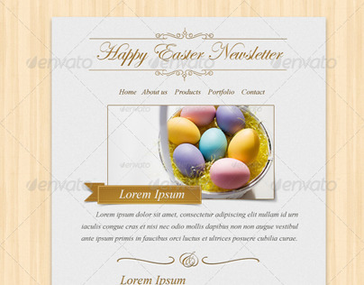 Happy Easter 2013 Newsletter