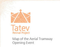 The Worlds Longest Aerial Tramway Opening Event Map