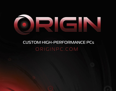 ORIGIN PC - Event Signage