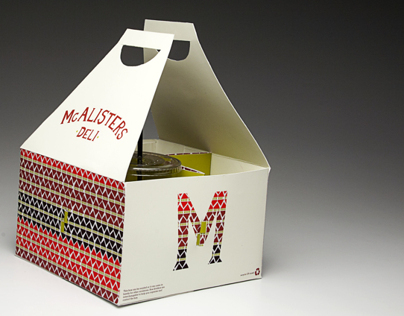 Package re-design: McAlisters Deli