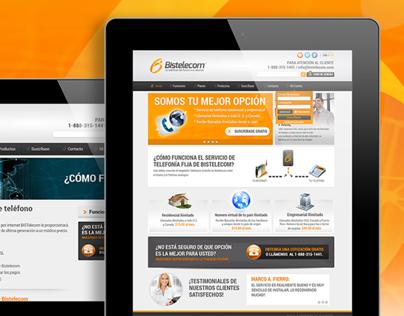 Bistelecom Web site