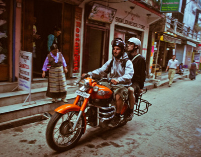 Streets of Mcleodganj
