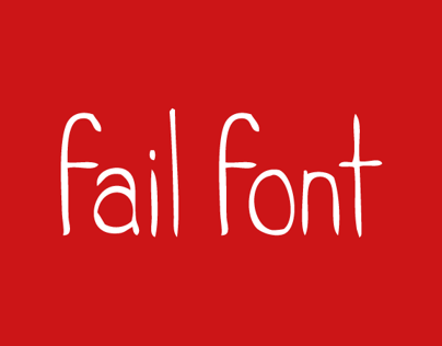 Fail Typography