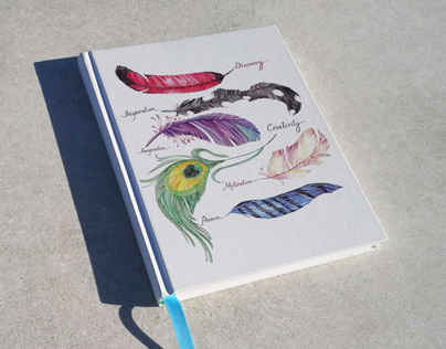 Quills Square Corner Journal