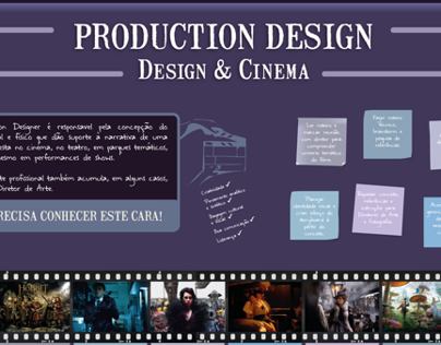 Infográfico sobre Production Design