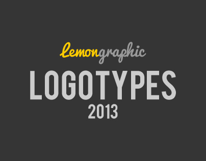 Logotypes design 2013