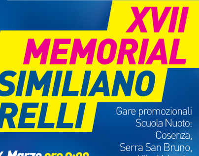 XVII MEMORIAL MASSIMILIANO ZICARELLI