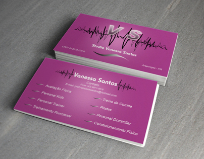 Business Card - Personal Trainer