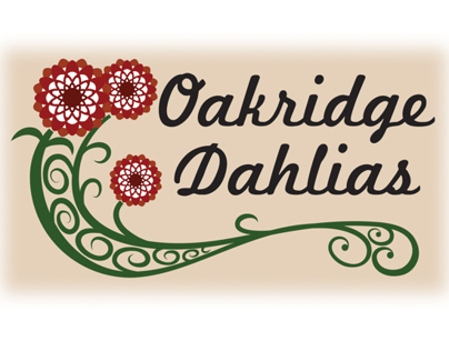 Oakridge Dahlias logo