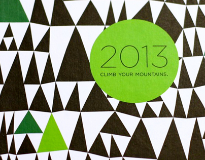 Climb Your Mountains, a little notebook