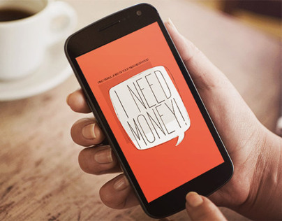 I need money! // Android app - 2013