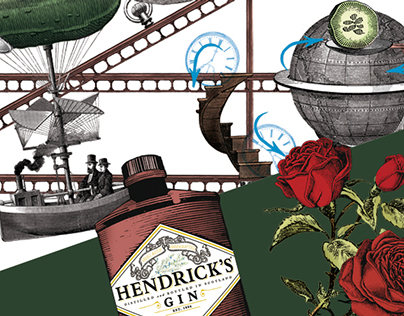Goldberg machine illustration for Hendricks