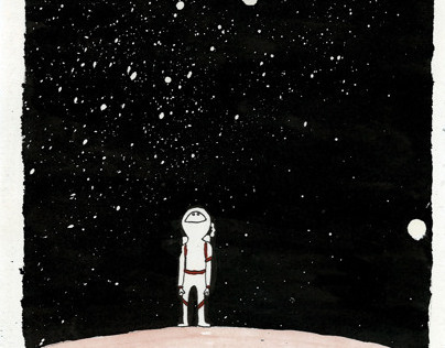 The lonely astronaut