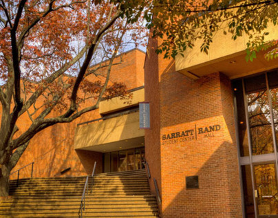 Sarratt | Rand Student Center renovation/re-branding