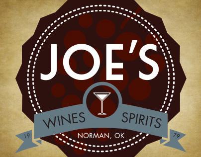 Joes Wines and Spirits Logo (2013)