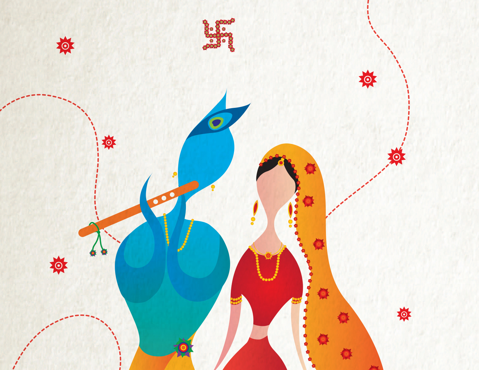 Rahul & Dee: Wedding cards