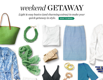 TALBOTS | Pack For A Weekend