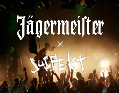 Jägermeister X Suspekt Merchandice Proposal