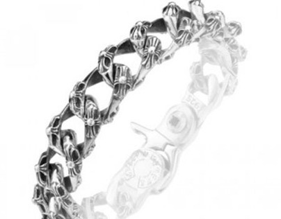 925 Sterling Silver Vintage Bracelet Gift For Men