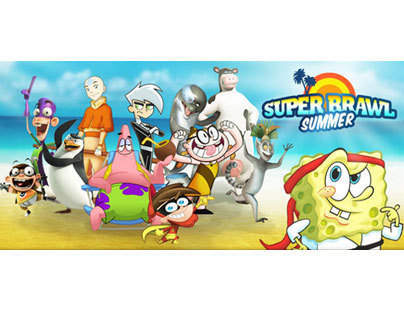 NIckelodeon.com: Super Brawl Summer