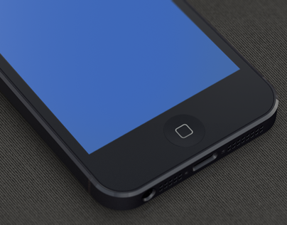 Free iPhone 5 Template
