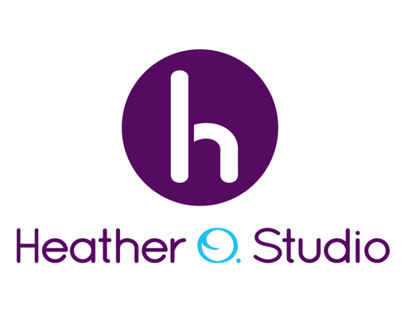 Heather O. Studio logo timeline