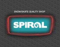 Spiral Shop_Web Design