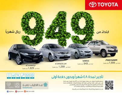 Toyota Mars/2013 Offer