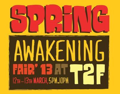 Spring Awakening Art Fair13 at T2F