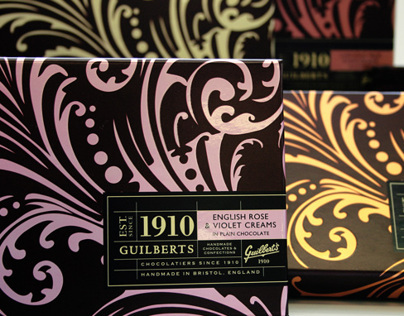 Guilberts Chocolate Packaging