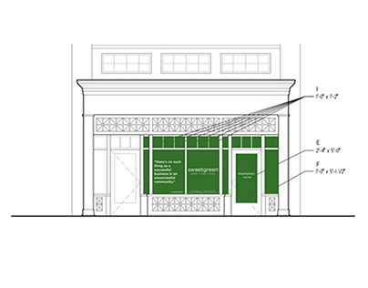 Sweetgreen Boston Location Storefront