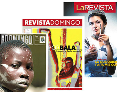 Feature Editorial Design: La Revista