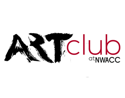 Art Club at NWACC - logo design