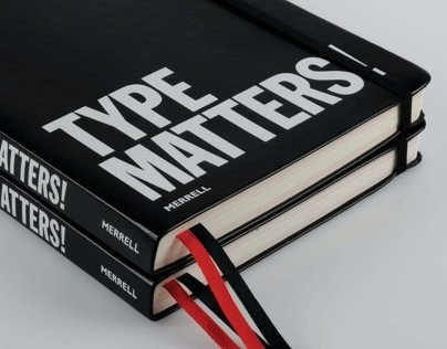 Type Matters! published by Merrell.