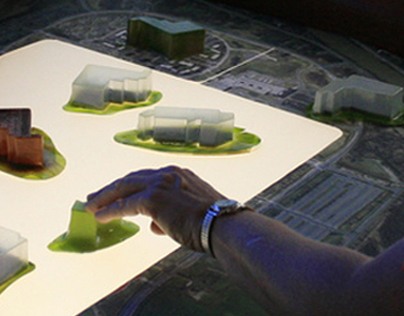 Tangible Visualization Surface Concept