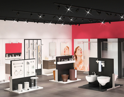 Showroom for Bath Products