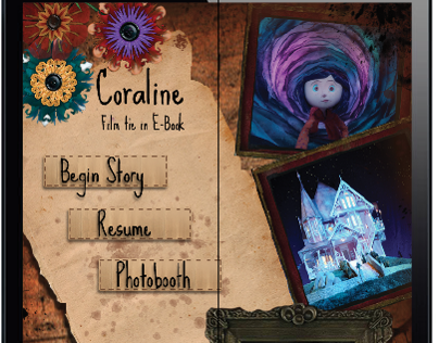 Ipad app, Interactive storybook