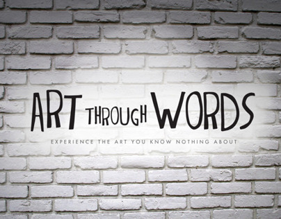 Art Through Words