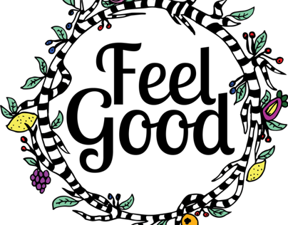 Feel Good Drinks Label - YCN