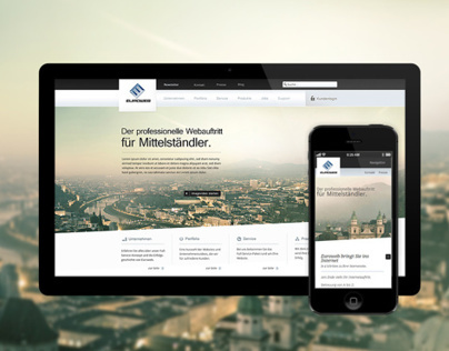 Euroweb Corporate Site by RODVIG