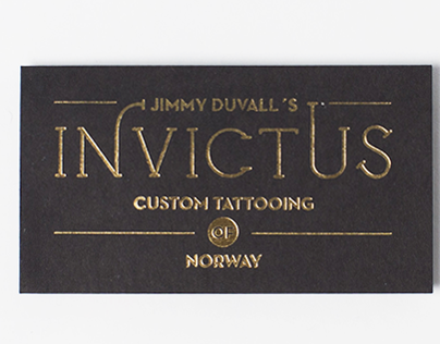 Identity for Invictus.