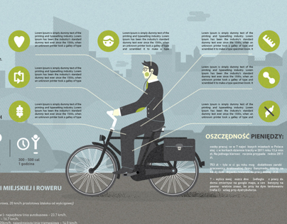 The advantages of biking INFOGRAPHICS