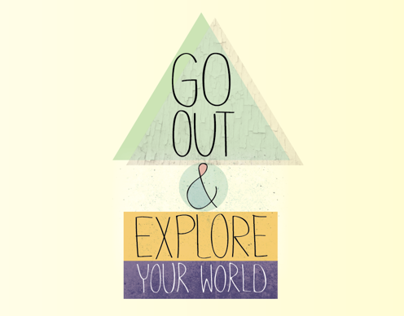 Go Out & Explore - Illustration